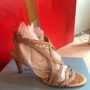 Antonio Taiya Jeweled Dress Sandals